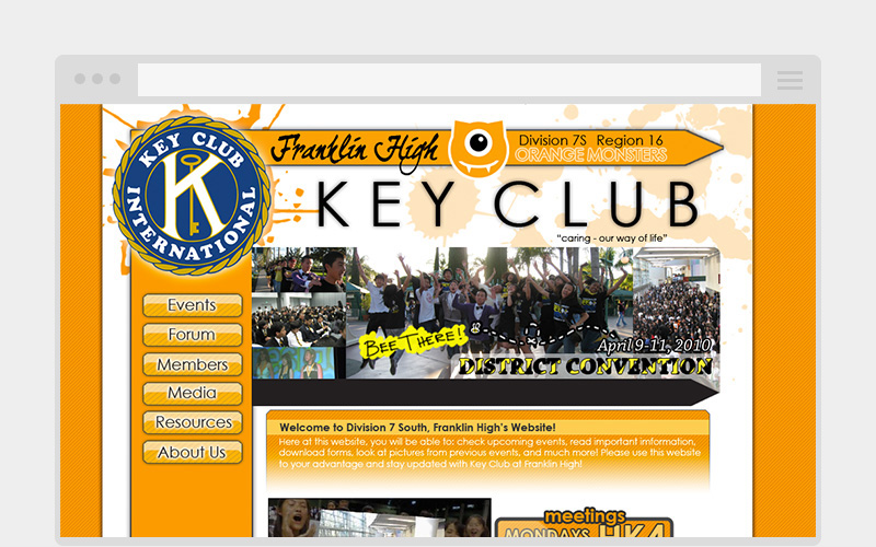 franklin key club